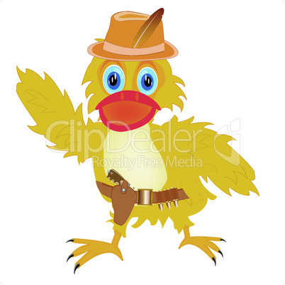 duckling cowpuncher.eps