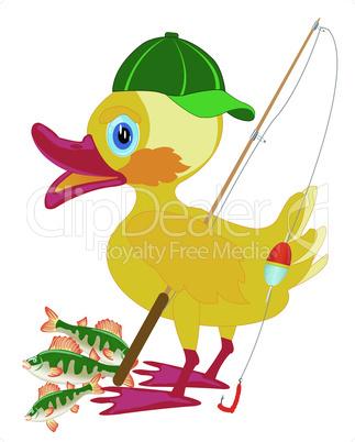 duckling fisherman.eps