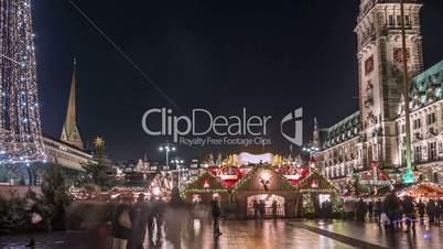 Hamburg Christmas Market Hyperlapse