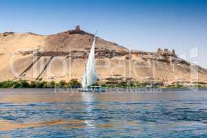 Traditional Nile Felucca
