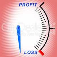 Profit or loss indicator