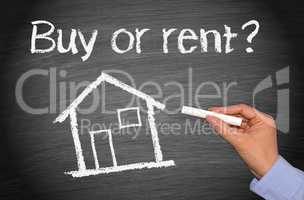 Buy or rent a house