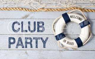 Club Party - Welcome on Board