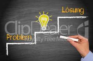 Problem, Idee, Lösung
