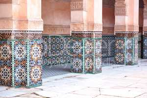 Old architecture in Morocco
