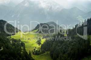 View from Herzogstand Bavaria Germany