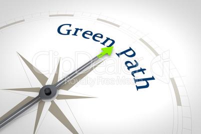 Compass Green Path