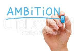 Ambition Blue Marker