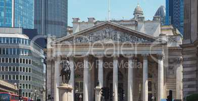 Royal Stock Exchange in London
