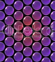 crystal ball array pattern gradient