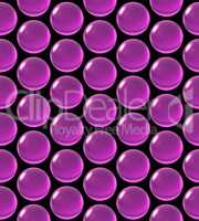 crystal ball array pattern magenta