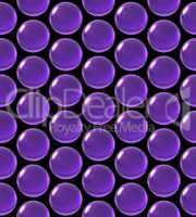 crystal ball array pattern purple