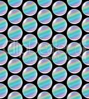 crystal ball array pattern rainbow