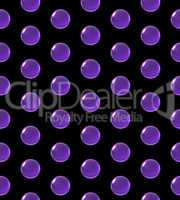 crystal ball dot pattern purple