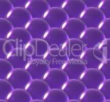crystal ball overlap pattern purple
