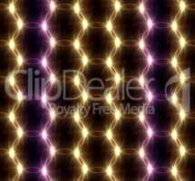 Lens Flare overlap color ring pattern
