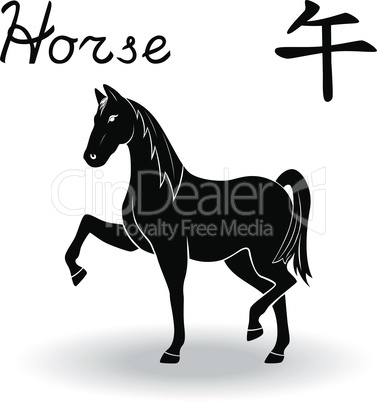Chinese Zodiac Sign Horse