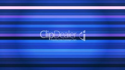 Broadcast Twinkling Horizontal Hi-Tech Bars, Blue Magenta, Abstract, Loopable, HD
