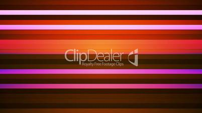 Broadcast Twinkling Horizontal Hi-Tech Bars, Magenta Orange, Abstract, Loopable, HD