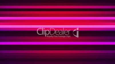 Broadcast Twinkling Horizontal Hi-Tech Bars, Magenta Red, Abstract, Loopable, HD
