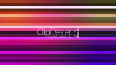 Broadcast Twinkling Horizontal Hi-Tech Bars, Multi Color, Abstract, Loopable, HD