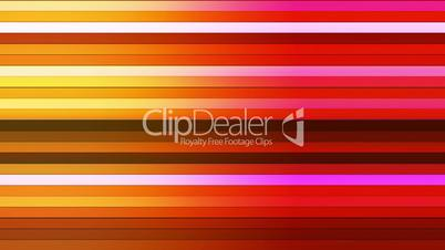 Broadcast Twinkling Horizontal Hi-Tech Bars, Red Yellow, Abstract, Loopable, HD