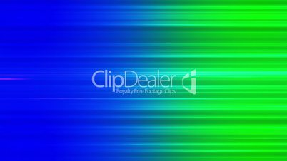 Broadcast Horizontal Hi-Tech Lines, Blue Green, Abstract, Loopable, HD