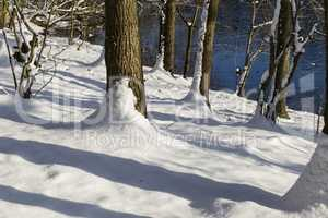 Winterlandschaft, winter landscape