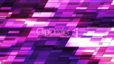 Twinkling Horizontal Slant Hi-Tech Small Bars, Magenta Purple, Abstract, Loopable, HD