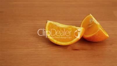 Orange lobules