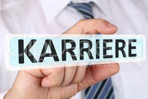 Business man Konzept mit Karriere Erfolg im Beruf