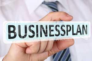 Business Plan Konzept mit Bisinessplan Gründung Start-up Untern