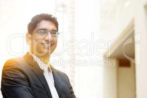 Asian Indian business man portrait