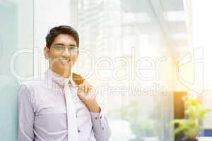 Asian Indian business people portrait