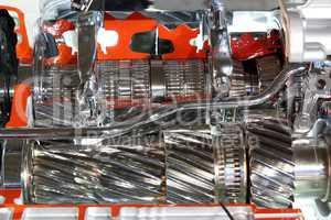 heavy truck transmission gears