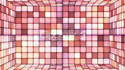 Broadcast Twinkling Hi-Tech Cubes Room, Brown, Abstract, Loopable, HD