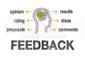 Feedback Business Concept