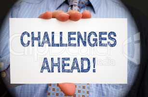 Challenges ahead !
