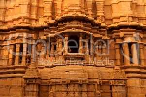 Details inside Jaisalmer fort