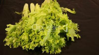 Dropping lettuce