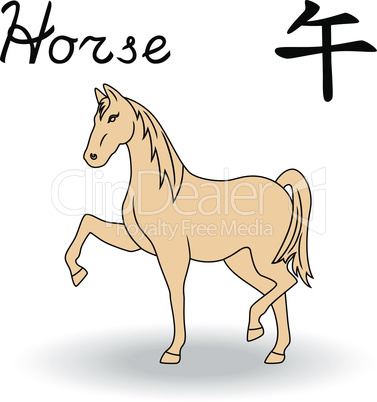Eastern Zodiac Sign Horse