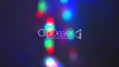 Multiple bouncing led abstract background