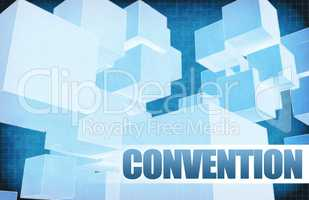 Convention on Futuristic Abstract