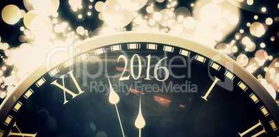 New year countdown graphic