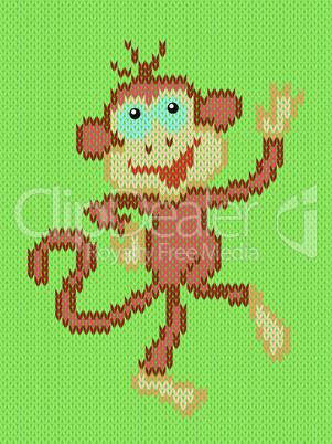 Monkey a symbol of Eastern New Year
