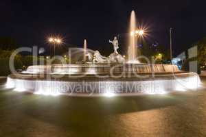 the god Neptune fountain