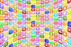 Application Apps App Icon Icons für Handy oder Smartphone Hinte