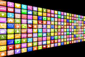 Application Apps App Icon Icons Multimedia Set für Handy oder S