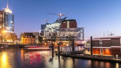 Hamburg Elbphilharmonie Hyperlapse