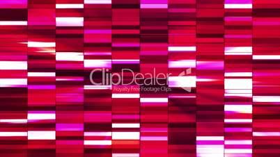 Twinkling Horizontal Small Squared Hi-Tech Bars, Red Magenta, Abstract, Loopable, HD